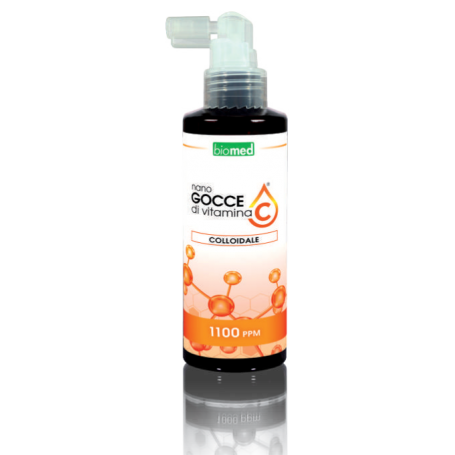 copy of NANO GOCCE DI ACIDO IALURONICO COLLOIDALE PURO - 100ML - 1200PPM